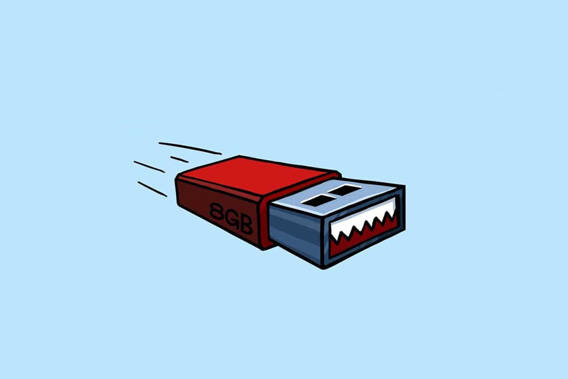 USB infectada