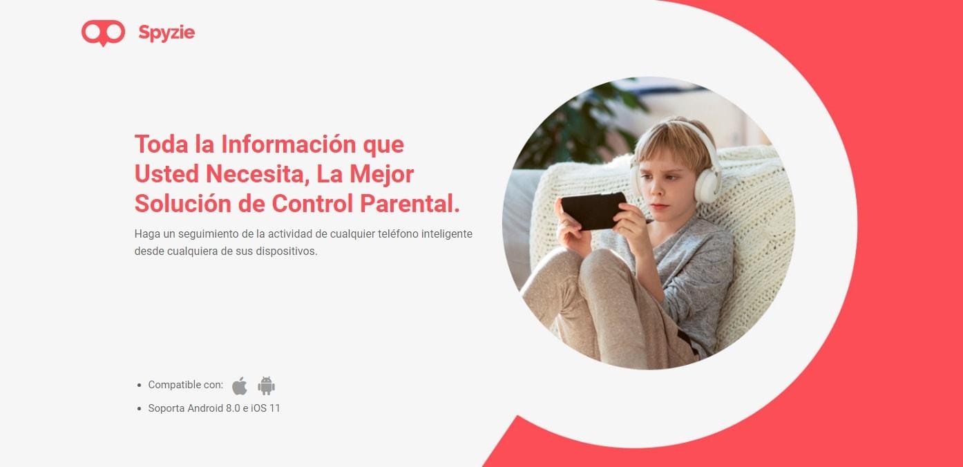 Spyzie - Aplicación de control parental