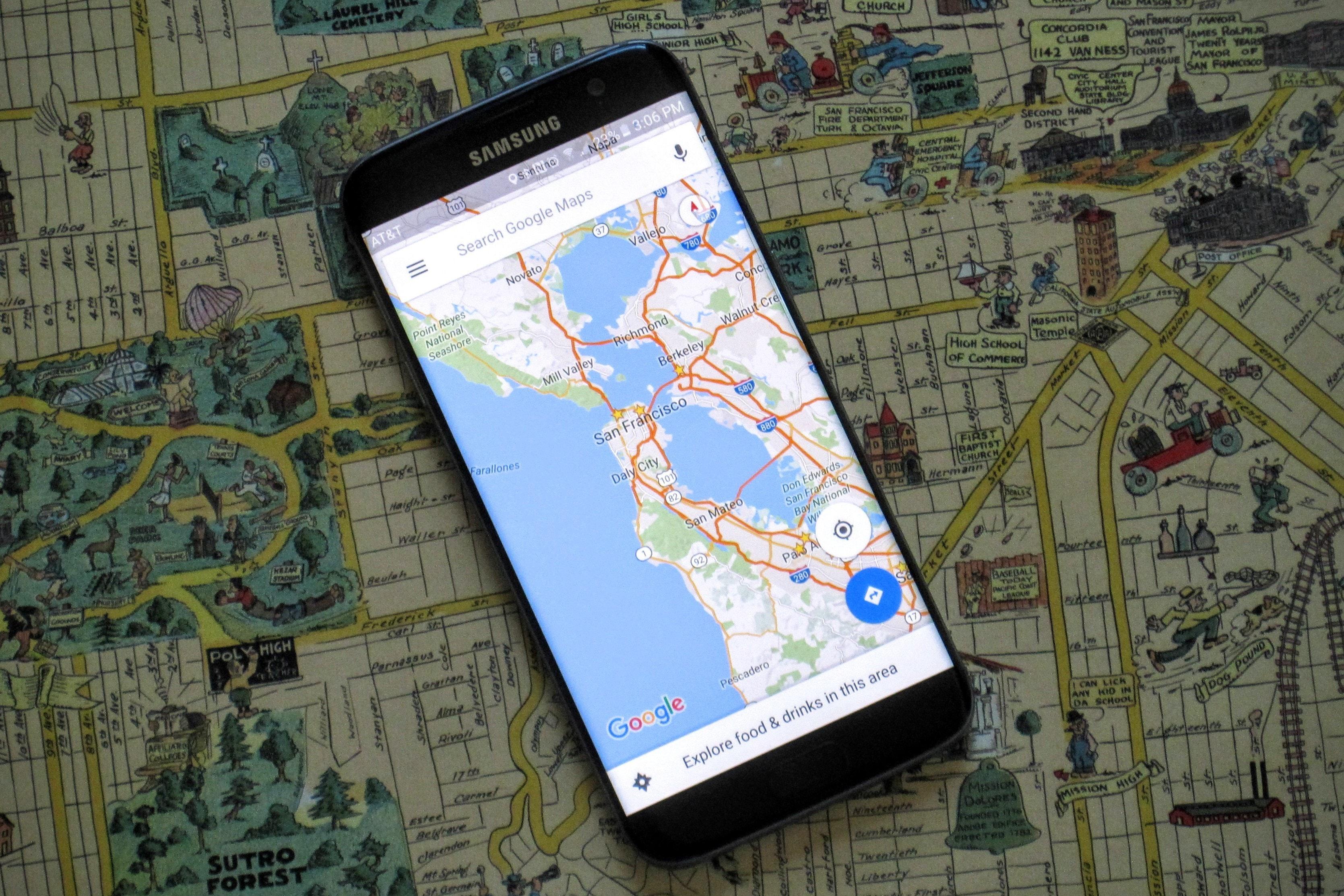 Forma sencilla para ver offline los mapas de Google Maps