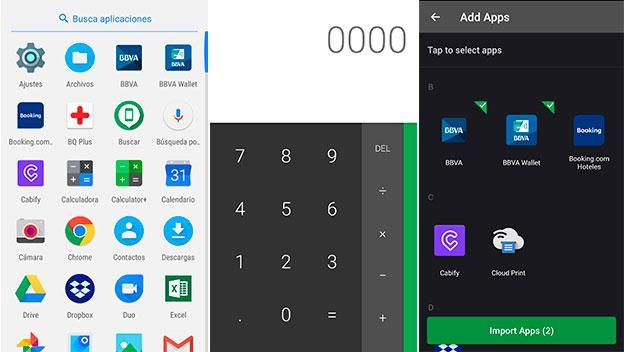 ocultar app en android