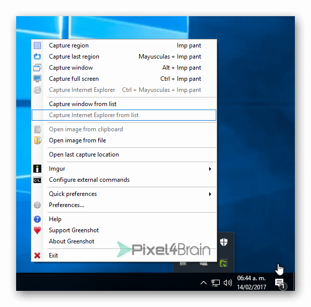 programa para tomar pantallazos
