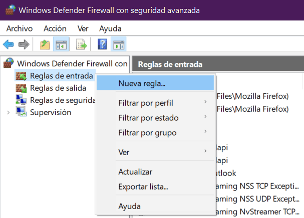 reglas-de-entrada-windows