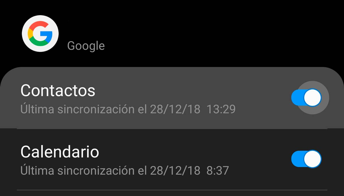 recuperar contactos borrados en Android