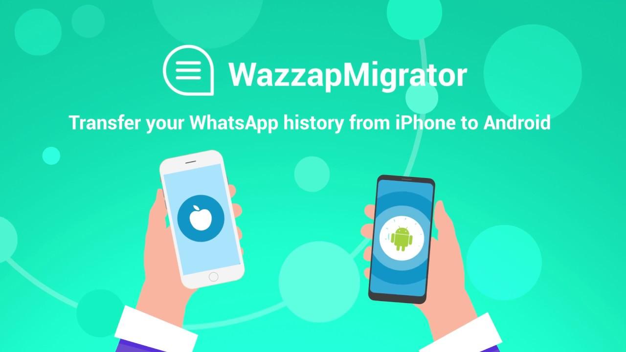 Cómo transferir WhatsApp de iPhone a Android con WazzapMigrator
